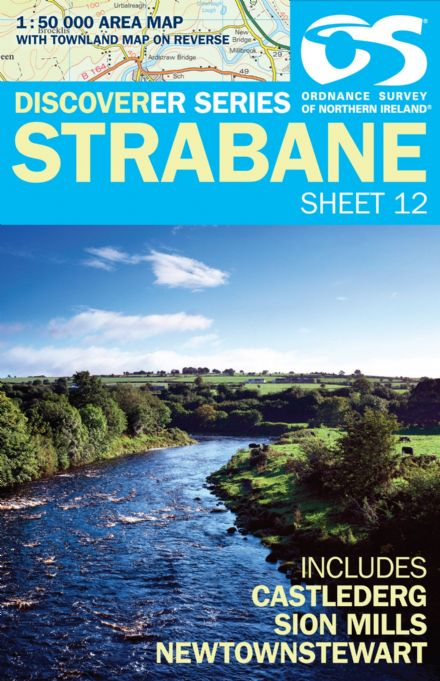 Ordnance Survey Northern Ireland 1:50,000 - Map 12 - Strabane